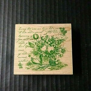 Rubber Stampede Stamp Every Tree Botanical NEW